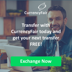 Get €30 and a free transfer when you use CurrencyFair to send money overseas via this special HRwisdom offer code: https://www.currencyfair.com/?channel=RCFL11